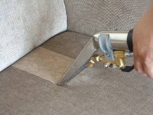 Deep upholstery cleaning