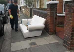 Rubbish removal Central London SE